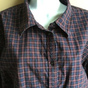 Chaps plaid long sleeve shirt